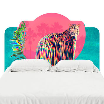 Jaguar Headboard Decal
