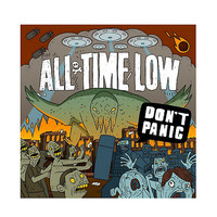 All Time Low - Don't Panic Vinyl LP Hot Topic Exclusive
