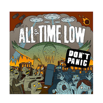 All Time Low - Don't Panic: It's Longer Now! Vinyl LP Hot Topic Exclusive
