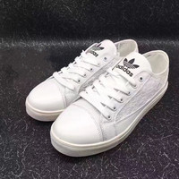 Adidas Women Favorite Lace Splicing Casual Shoes