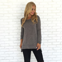 Just Right Sweater Top
