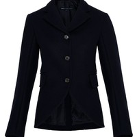 NORMAN BONDED WOOL SHRUNKEN BLAZER