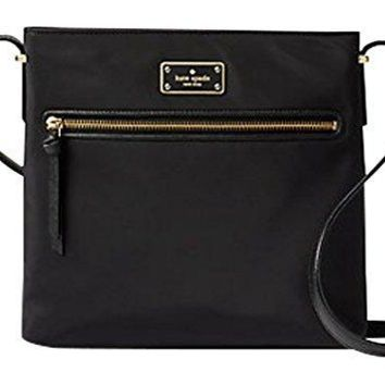Kate Spade New York Dessi Wilson Road Crossbody Purse (Black)