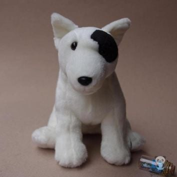 Bull Terrier Dog Stuffed Animal Plush Toy 11""
