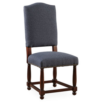 Navy Nantucket Side Chairs, Pair, Dining Chair Sets