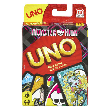 Monster High Uno Card Game