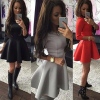 New Fashion Summer Sexy Women Mini Dress Casual Dress for Party and Date