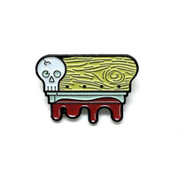 Skull Squeegee Pin (Limited Edition)
