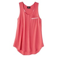 Prabal Gurung For Target® Pebble Racerback Tank Top -Calypso Coral