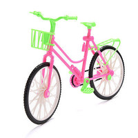 1 X Bike with Basket for Barbie Baby Girls Play House Dollhouse Furniture U401