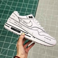 Nike Air Max 1 Sketch To Shelf White - Best Online Sale