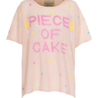 WILDFOX  Piece of Cake Baby Kurzärmeliger Strickpullover - What's new