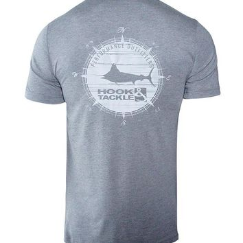Men's Marlin Compass Reelsoft Fishing T-Shirt