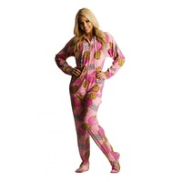 Cookie printed Footed Pajamas