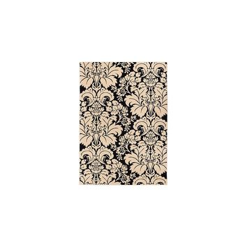 Well Woven Sydney Damask Toile Black / Ivory Area Rug