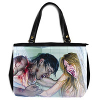 RW2 SIGNED ZOMBIE Huge Bag by Robert Walker Goth by RW2Gallery