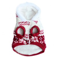 Winter Coat Fleece Snowflake Dog Clothes & Cat Clothes