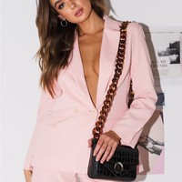 Pink Ladies Blazer | Princess Polly