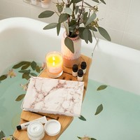 Me Time Bamboo Bath Tray Caddy | Urban Outfitters