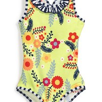 Toddler Girl's Patagonia 'QT' One-Piece Swimsuit,