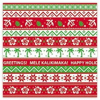 """Gift Wrap Paper """"Island Ugly Sweater"""""""