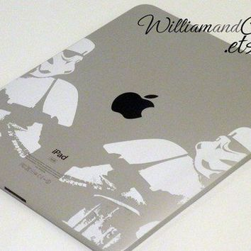 Stormtrooper  iPad 2 decal iPad sticker iPad 2 by williamandcindy