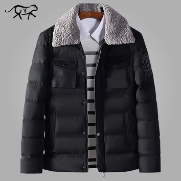 New Arrival Brand Winter Jacket Men British style Stand Collar Casual Warm Parka Men's Coats and Jacket Fashion Overcoats 4XL