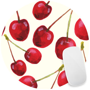 Cherry Bomb Mouse Pad Decal