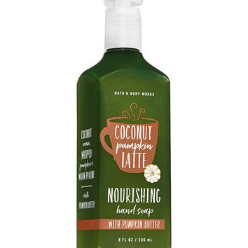 Bath & Body Works COCONUT PUMPKIN LATTE Hand Soap 8 oz