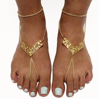 Filigree Foot Chain