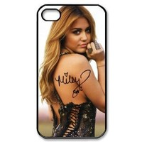 Top Iphone Case, Miley Cyrus's Signature Iphone 4/4s Case Cover,Best Iphone 4/4s Case 2s287