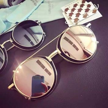 Fashion Mirror Sunglasses [11717060815]