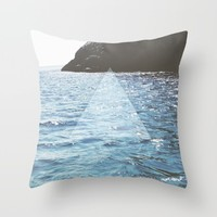 Ocean State Throw Pillow by Ashley Hillman