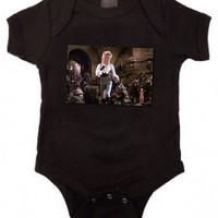 Labyrinth David Bowie 80's retro movie Onesuit for baby shower gift vintage pregnant gift free shipping