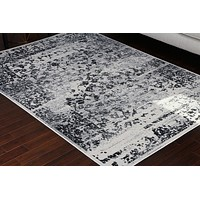 4060 Gray Distressed Oriental Area Rugs