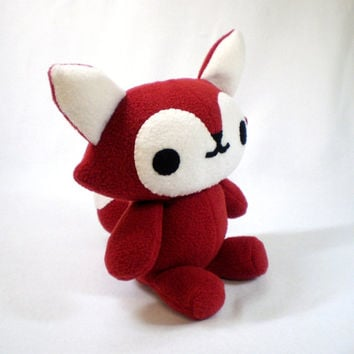 Red Fox Stuffed Plush Toy Animal