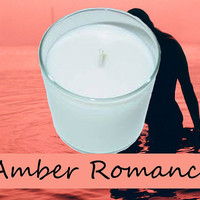 Amber Romance Candle in Tumbler 13 oz