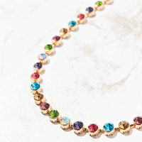 Eleni Rainbow Choker Necklace - Urban Outfitters