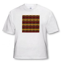 Fyre Trybe Tribal Retro Geometric Pattern Abstract Textile - Toddler T-Shirt (2T)
