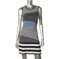 Bailey 44 Womens Jersey Striped Tank Dress