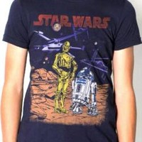 Star Wars Youth T-Shirt - C3PO And R2D2