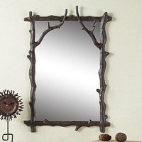 SPI Nature Collection - Branch Wall Mirror [Kitchen]