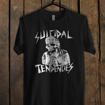 Suicidal Tendencies Skeleton T Shirt Mens T Shirt and Womens T Shirt **