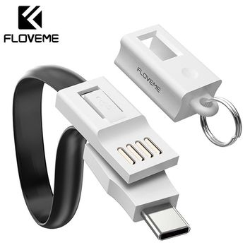 FLOVEME USB Type C Cable For Samsung Galaxy S9 Note9 Mobile Phone Cable For Xiaomi Huawei Fast Charging USB Type-C Charger Cable