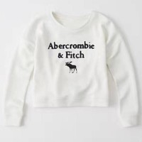 Abercrombie & Fitch Fashion Print Top Sweater Pullover-1