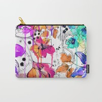 Lost in Botanica Carry-All Pouch by Holly Sharpe