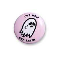 Sara M. Lyons Cry Now Button