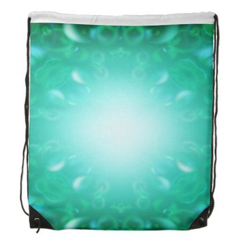 Glow Bubbles Drawstring Backpack