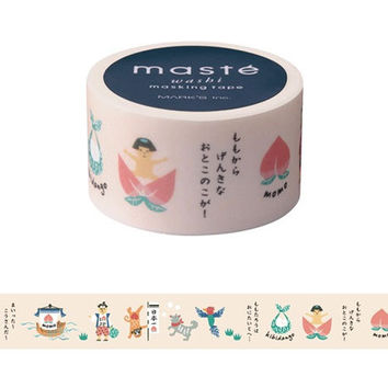 Momotaro by maste washi masking tape mt