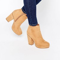 ASOS EDISON Heeled Ankle Boots